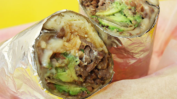 Chef Jessica Largey reviews Carne asada super burrito at