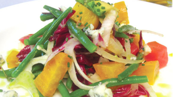 Beet & Haricot verts at Bistro Don Giovanni