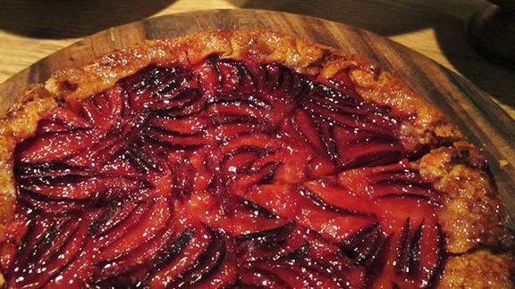 Dessert at Chez Panisse
