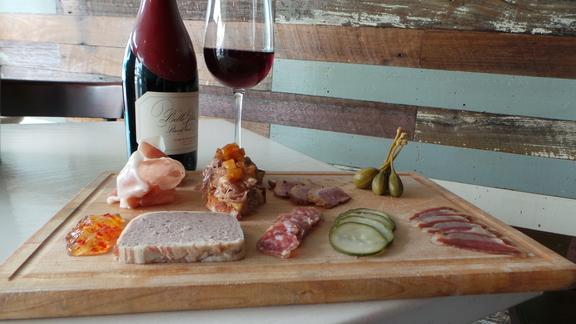 Meat Board at Wayfare