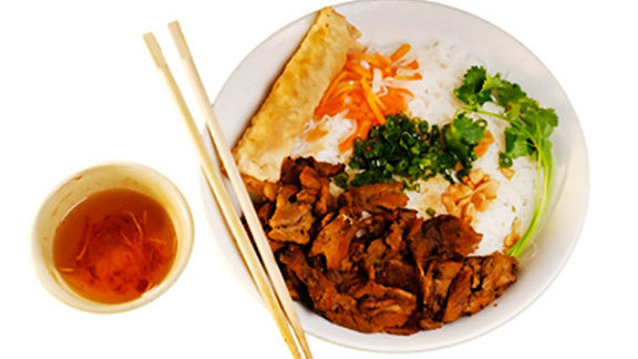 Bún bò nướng sả at Pho Saigon