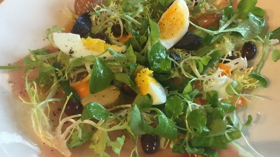Albacore Tuna Niçoise Salad  at Terrain Cafe