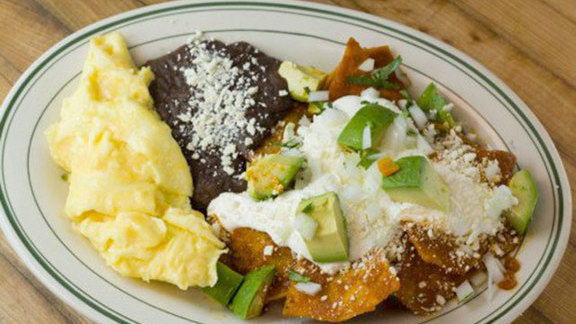 "Chilaquiles ""El Cardenal"" at El Molino Central"
