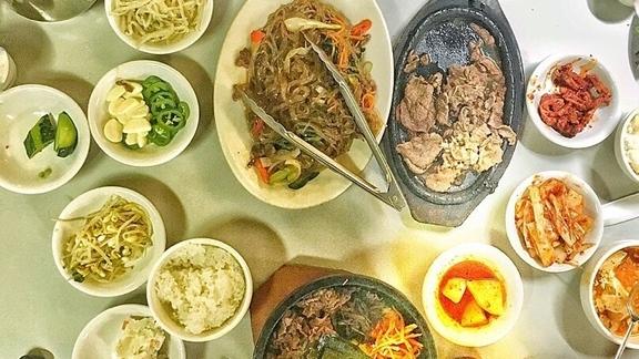 Bibimbap and Korean BBQ at Korean Village Wooden Charcoal BBQ House