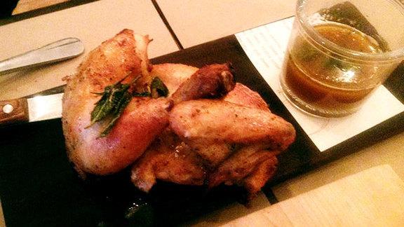 Roast chicken at Union