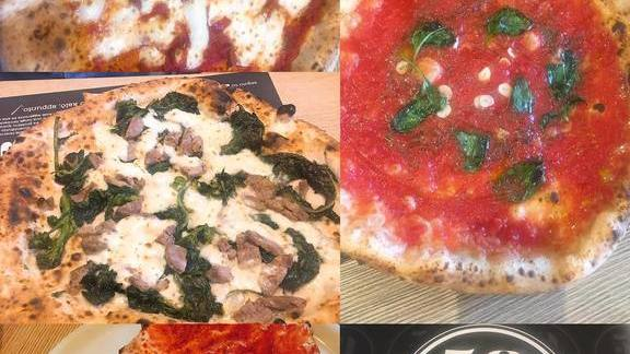 New-style Neapolitan pizza at Pizzeria Delfina