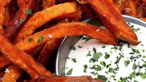 Sweet potato fries at Pono Burger