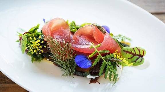 Spring Crudo at Masseria