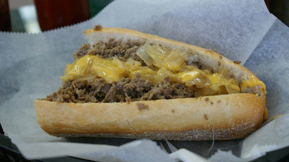 Cheesesteak at Dalessandro's Steaks and Hoagies