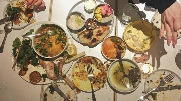 Chef Courtney McBroom reviews Assorted plates at Kismet