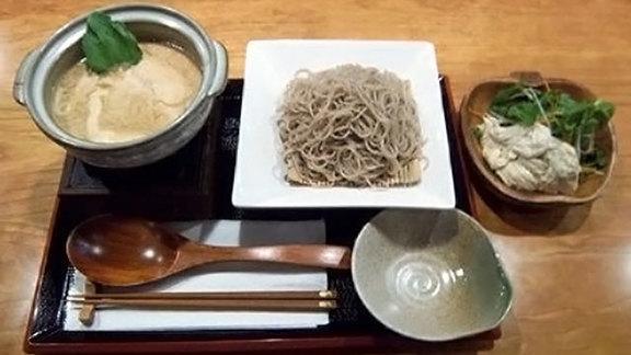 Chef Leah Cohen reviews Yuba dip soba at