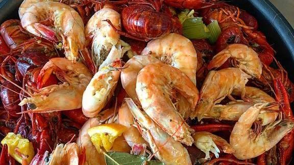 Crawfish at Bevi Seafood Co