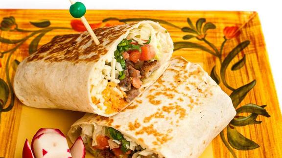 Burrito at Guacamole