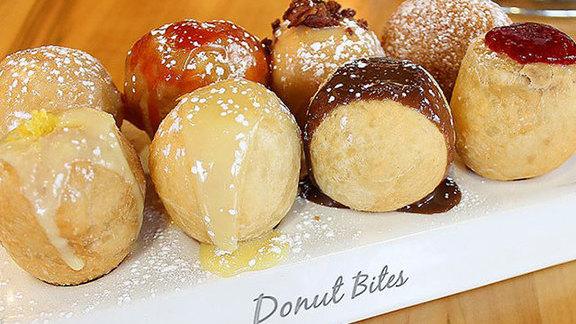 Donut bites at Jelly U Cafe
