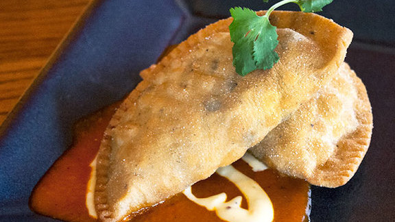 Empanadas at Zolo Southwestern Grill