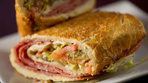 Italian sandwich at Snarf's