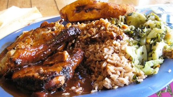 Chef Deborah Scott reviews Jerk chicken at