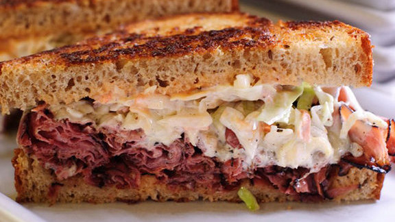 Pastrami special at Masterpiece Delicatessen