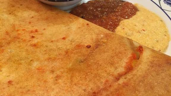 Masala Dosa at Chili's Deli