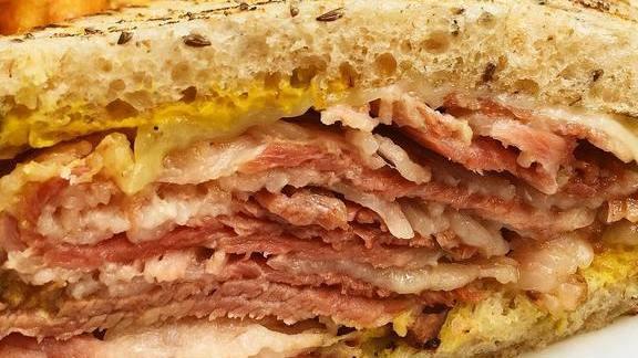 Chef Matthew Adler reviews Pastrami Sandwich at Tico