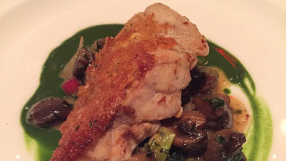 Sweetbreads at The Simone