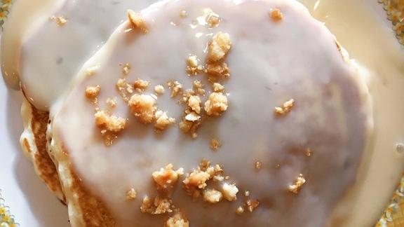 Macadamia Nut Pancakes at 808 Grindz Cafe