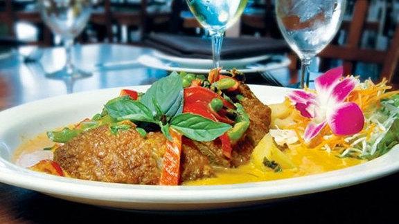 Chef Shawn Kelly reviews Basil duck at