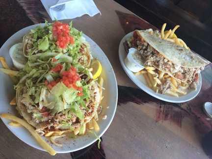 Fish tacos at Paia Fish Market