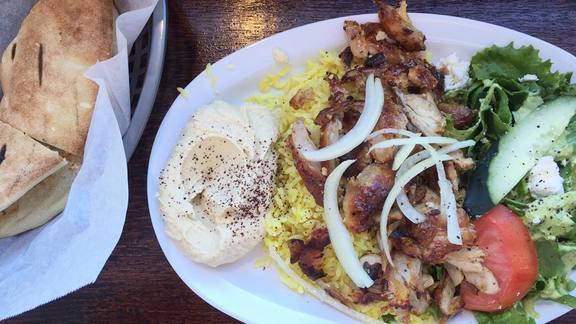 Shawarma at Yumma's Mediterranean Grill