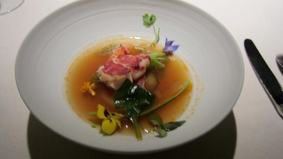 Chef Andrew Richardson reviews Tasting Menu at