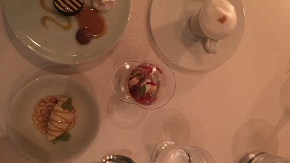 The entire dessert menu at Per Se