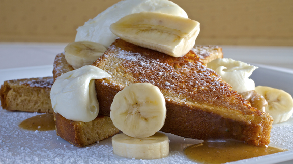 Brioche French toast at Nine-Ten Restaurant and Bar