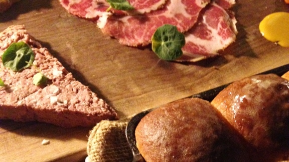 Chef Tyrone  Welchinski reviews Charcuterie at Spoon and Stable