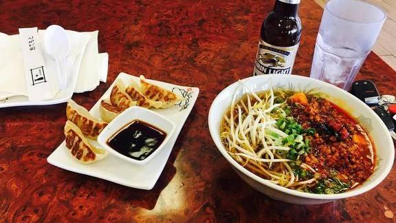 Mapu Tofu Ramen at Asian Noodle House