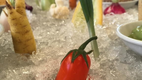 Vegetable Cocktail at Press Restaurant