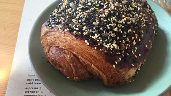 Chef Rebecca Masson reviews Everything croissant at