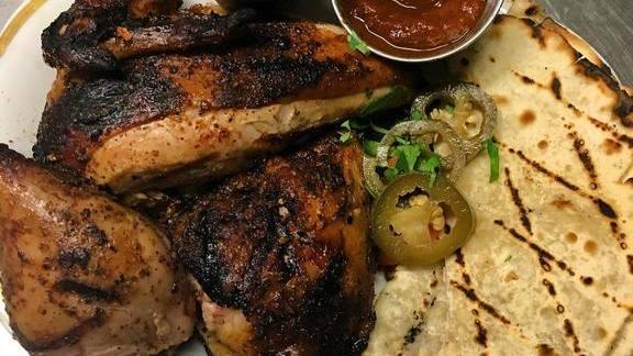 San Antonio chicken at Bit House Saloon