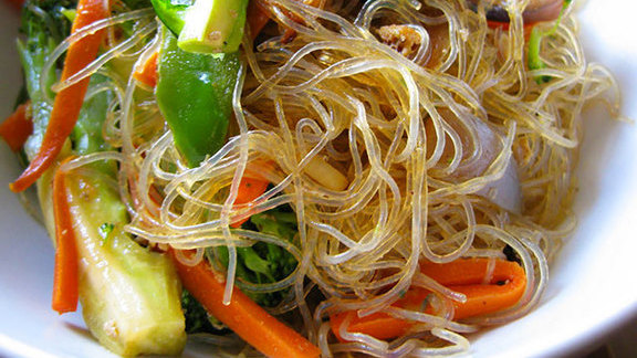 Pad woon sen at Titaya's Thai Cuisine