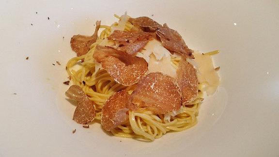 Truffle tagliolini at Da Marco Cucina e Vino