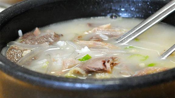 Sul lung tang mixed at Han Bat Sul Lung Tang