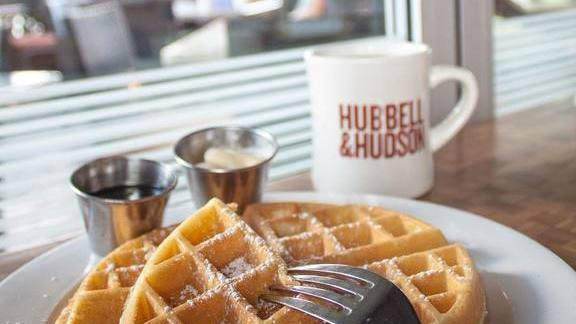 Chef Nguyet Nguyen reviews Waffles at Hubbell & Hudson Bistro