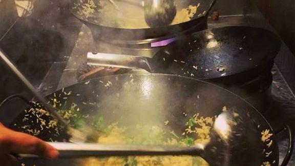 Crab fried rice at Lukshon