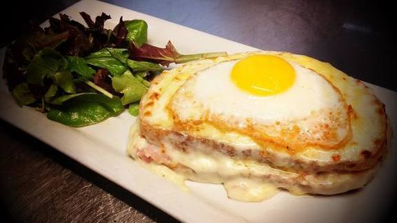 Croque madame at Mother's Bistro & Bar