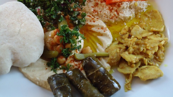 Mid-East sampler at Arabesque