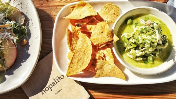 Chef David Nayfeld reviews Ceviche  at Nopalito