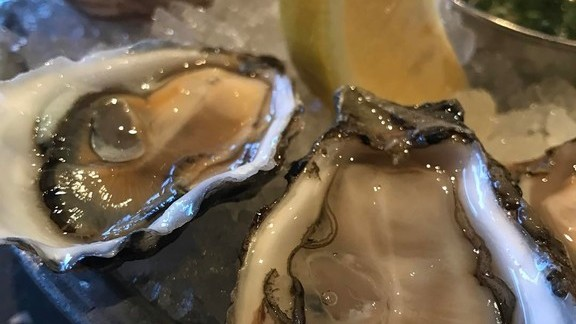 Sweetwater oysters  at Hog Island Oyster Co.