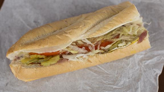 Prosciutto sandwich at Phoenicia