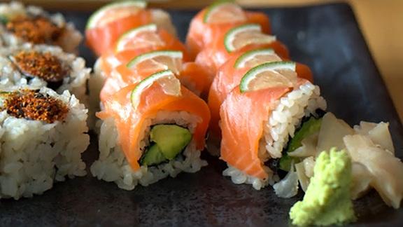 Salmon citrus at Sushi Ran
