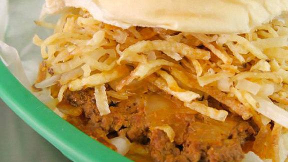 Frita traditional   at El Mago de Las Fritas