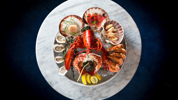 Chef Francis Hogan reviews Royal platter at Farallon